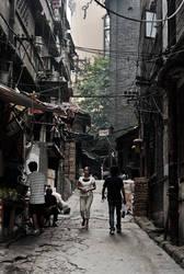Jaefangbei slum by avotius