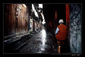 Village Street by avotius