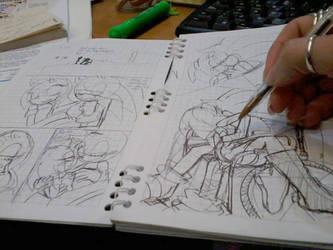 .:Choice Comic:. Sketching