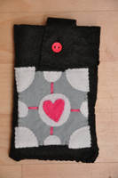 Portal Phone Case by VickitoriaEmbroidery