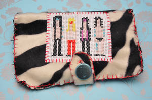 Motley Crue Needlbook by VickitoriaEmbroidery