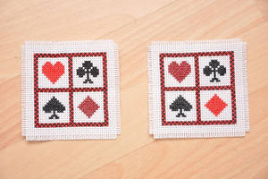 Coasters by VickitoriaEmbroidery