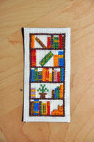 Book Case Bookmark by VickitoriaEmbroidery
