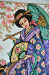 Geisha Close Up