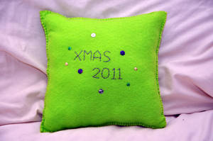 Cushion Back by VickitoriaEmbroidery