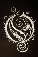 Opeth Logo Cross Stitch by VickitoriaEmbroidery