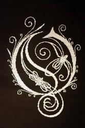 Opeth Logo Cross Stitch