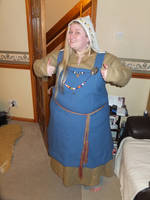 Viking Garb WIP by VickitoriaEmbroidery