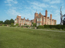 Kentwell Hall by VickitoriaEmbroidery