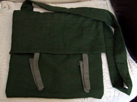 Linen bag by VickitoriaEmbroidery