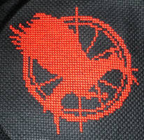 Catching Fire by VickitoriaEmbroidery