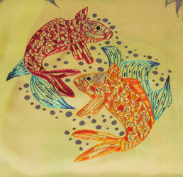 Embroidered Artwork 3 by VickitoriaEmbroidery