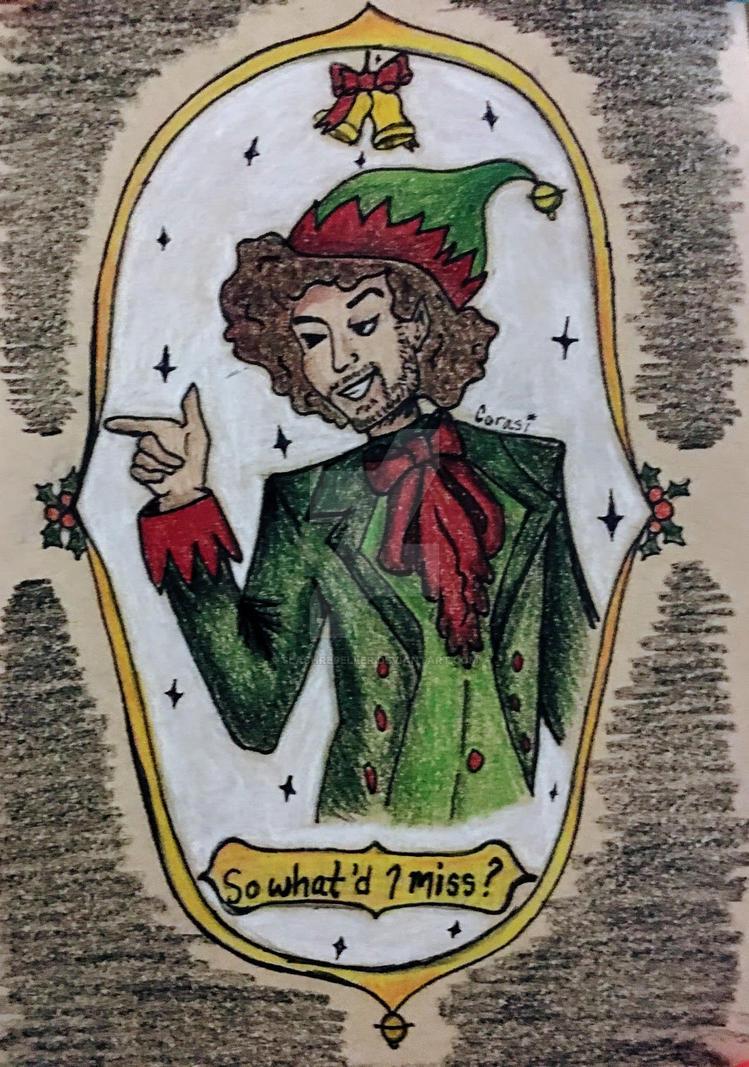 Elf Daveed Diggs as Thomas Jefferson 2016 by SlashRepeller