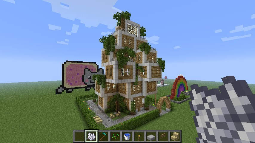 My Minecraft House By ThePixelCreator On DeviantArt