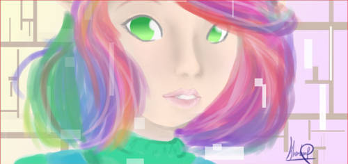 Pixels by anime-girl1709