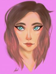 Portrait by anime-girl1709