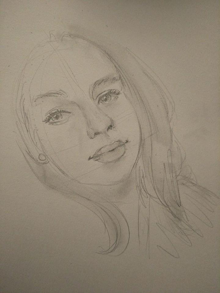 Jess Study by anime-girl1709