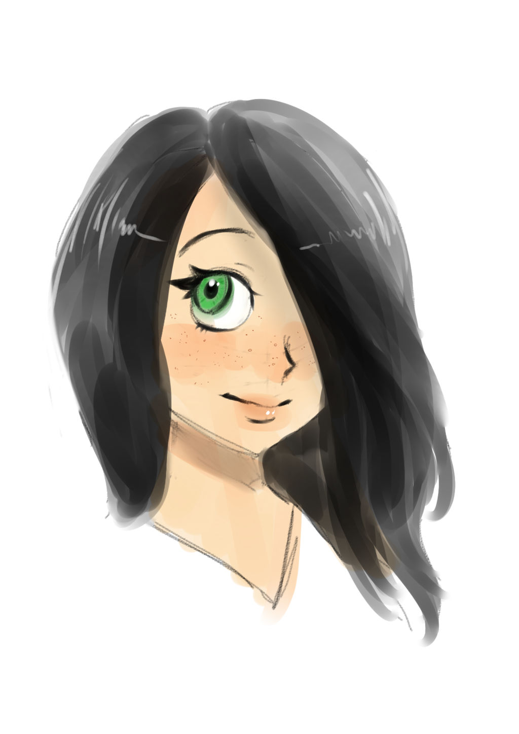 Harumi Sketch :) by anime-girl1709