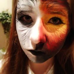 I am the girl on fire, the mockingjay,