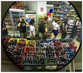 convenience store by killerhippie