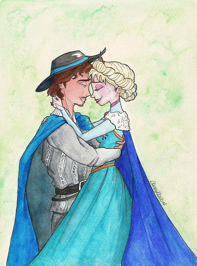Marco and Elsa by crystalwaterfall