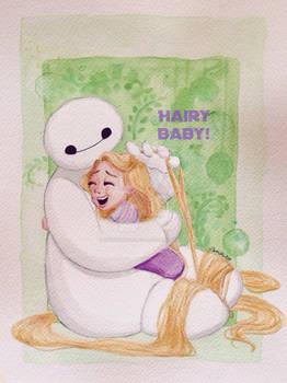 Hairy Baby!