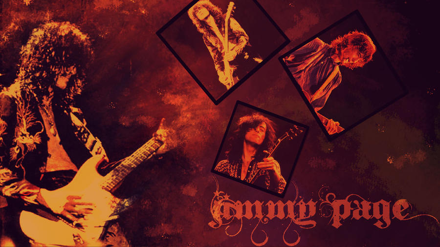 Jimmy Page Wallpaper By Rose13Valentine