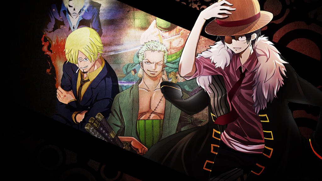 One Piece Monster Trio Wallpaper HD By Tahmidismyname