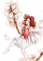 Almond Blossom Fairy by Ka-ou