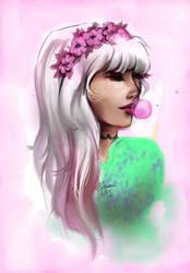 Pastel girl by Ka-ou