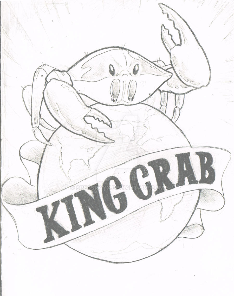 King Crab Drawing King Crab is Taking Over