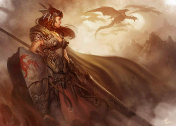 Dragon Hunter by dleoblack