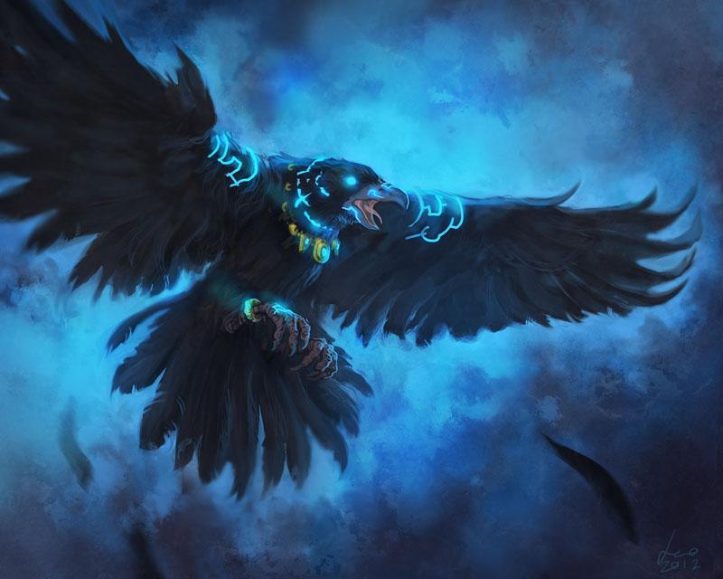 A Umbra Rasa (Penumbra) - Página 21 Raven_familiar_by_dleoblack-d4zclmk