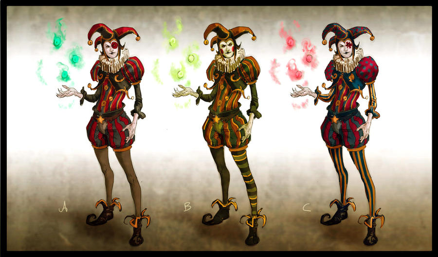 The gallery for --> Characters In A Circus