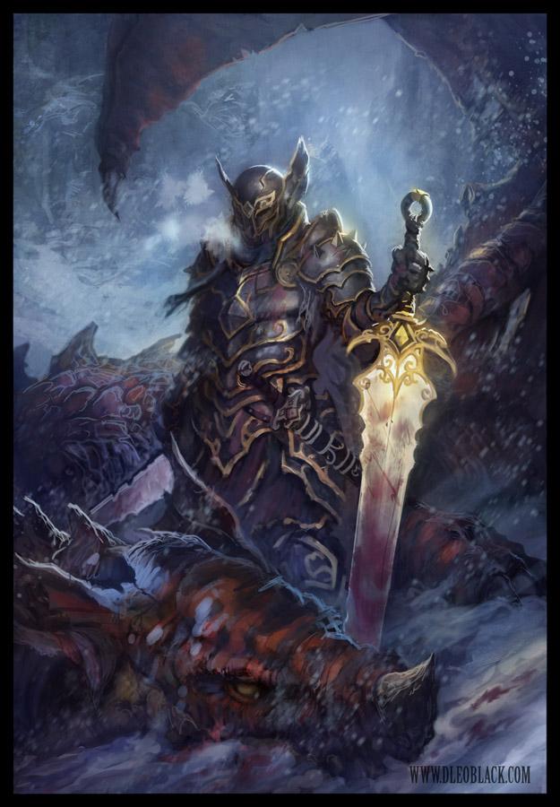 Dragon Slayer By Dleoblack On Deviantart
