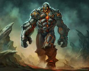 Iron Golem by dleoblack