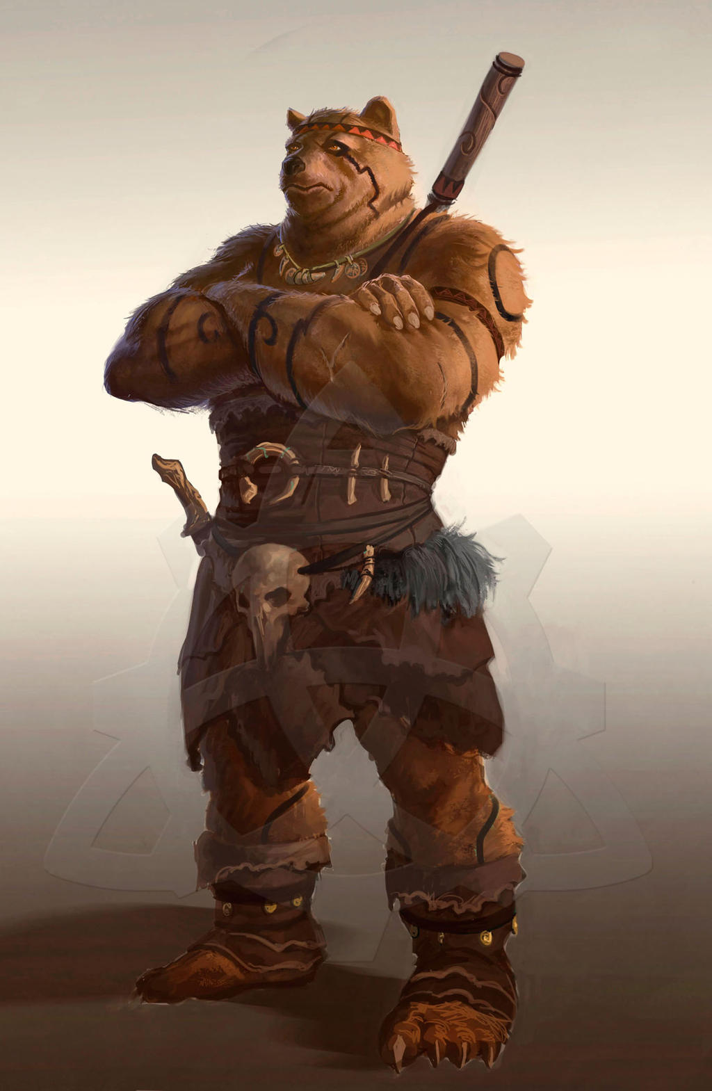 Ursine Character by dleoblack