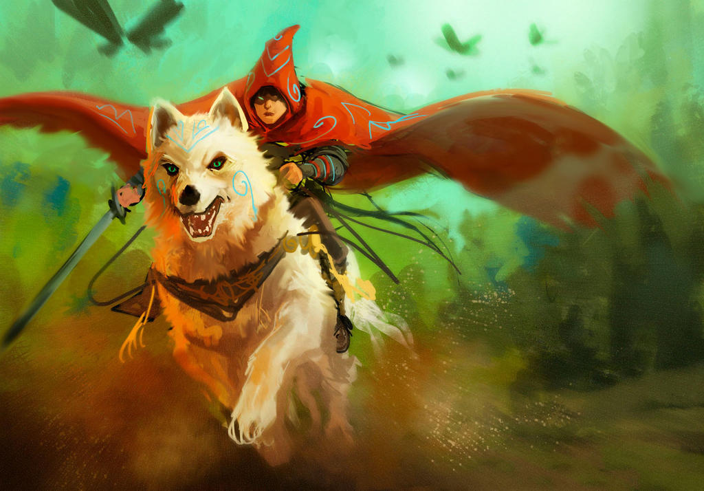 Wolf Riding