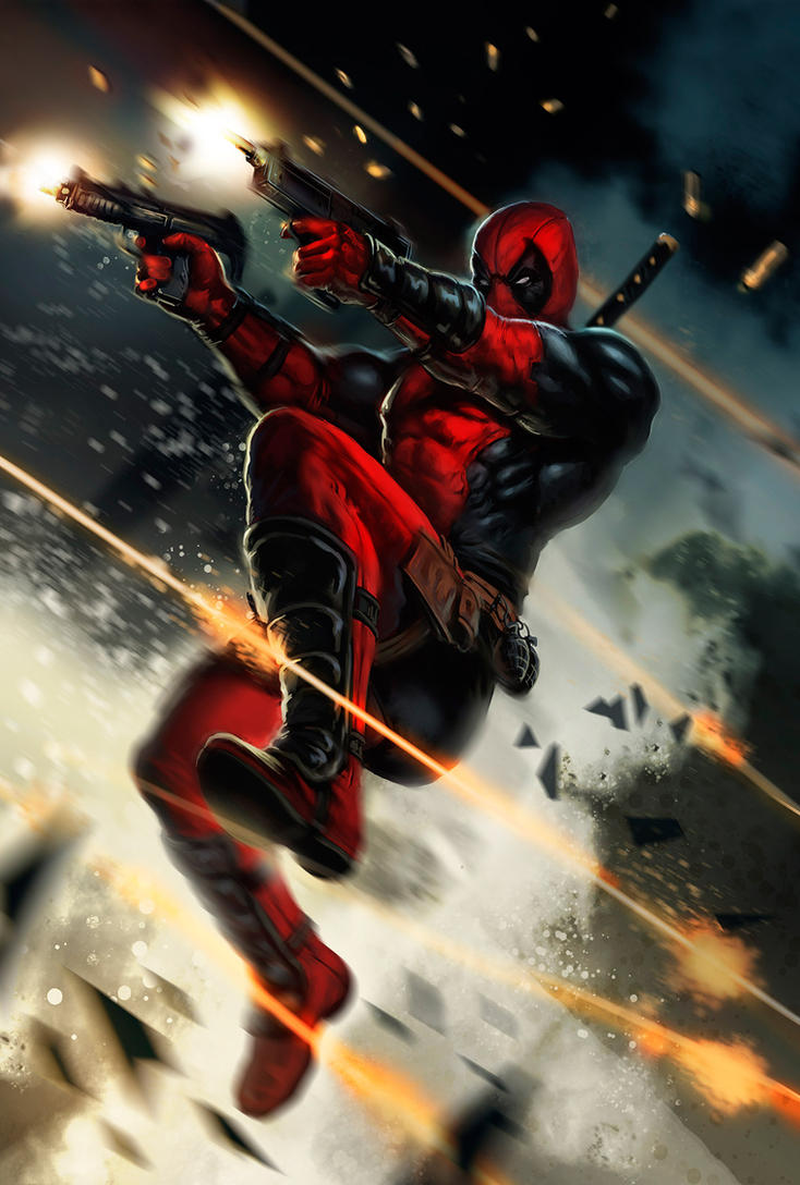 Deadpool by dleoblack