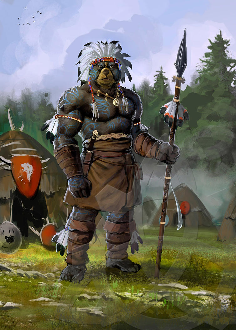village chief by dleoblack