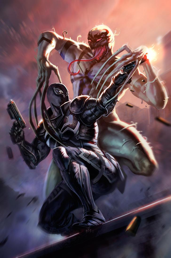 http://pre03.deviantart.net/6b35/th/pre/i/2016/044/3/8/venom_vs_venom_by_dleoblack-d9rksut.jpg Anti Venom Vs Toxin