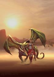 Dragonspeaker by dleoblack