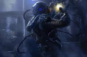 Alien by dleoblack