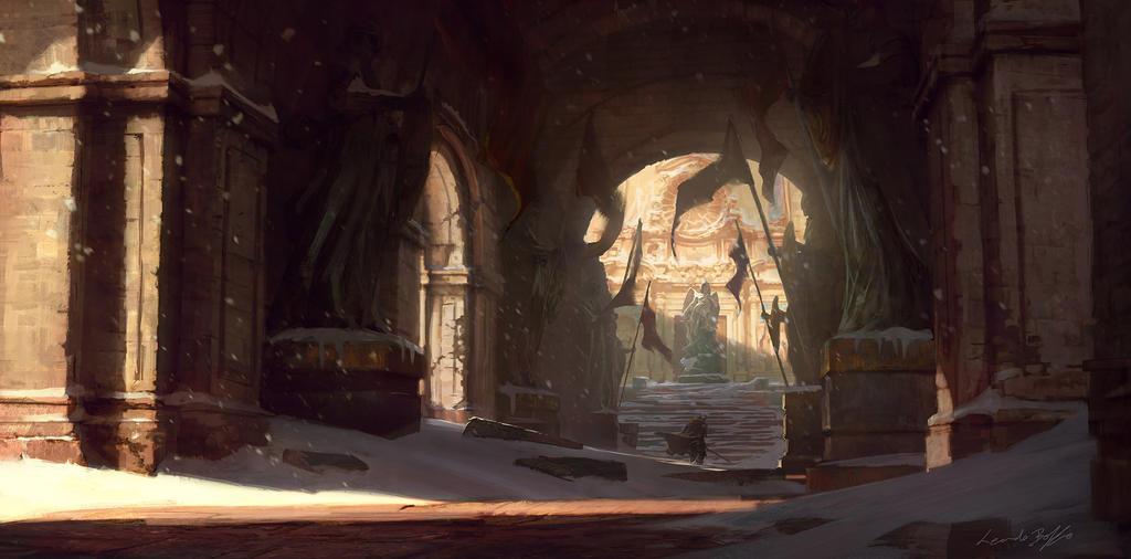 Londar castle by dleoblack