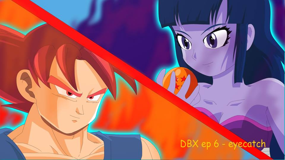 twilight vs goku (dragon ball x) by LadyTakerFandub