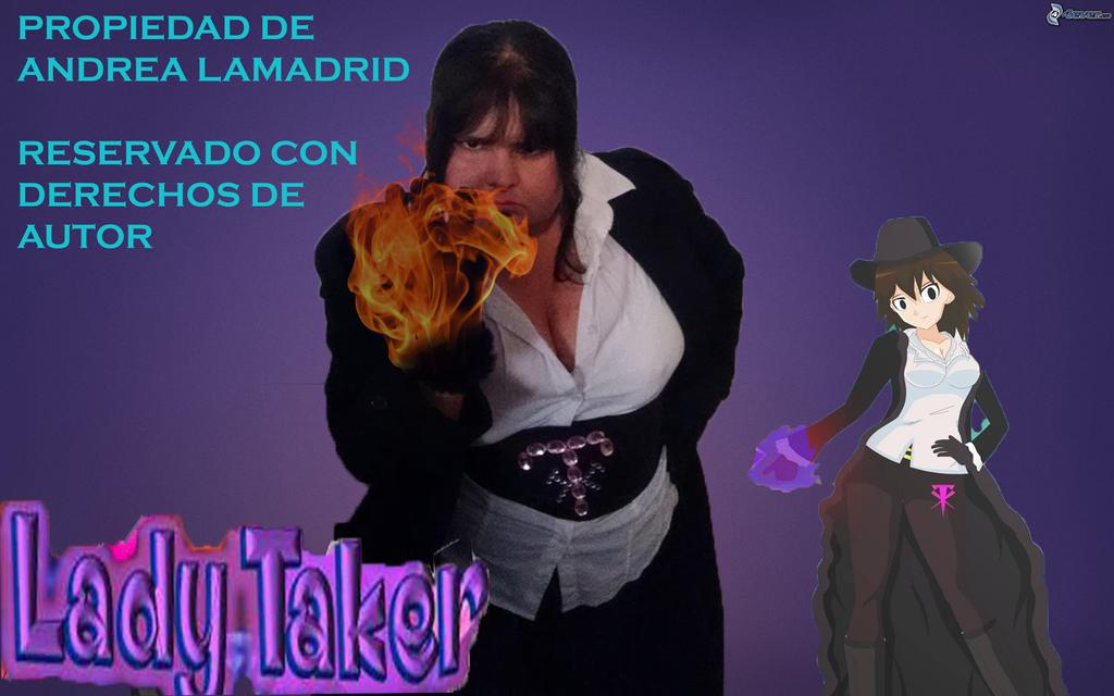 Andrea lady taker cosplay by LadyTakerFandub