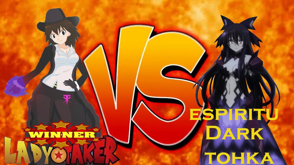 lady taker vs tokha yatogami (lady taker win) by LadyTakerFandub