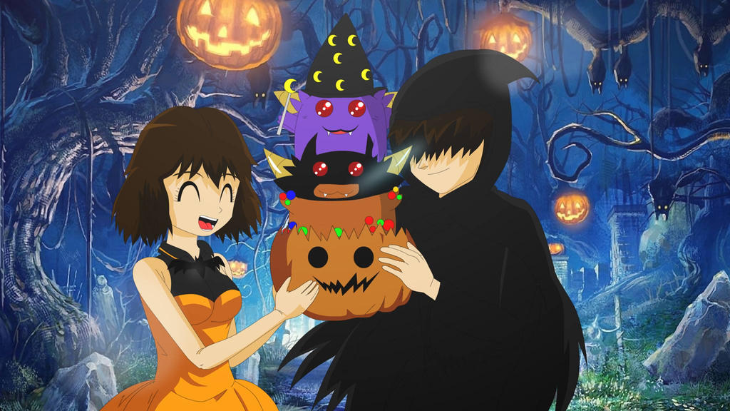 happy halloween by LadyTakerFandub