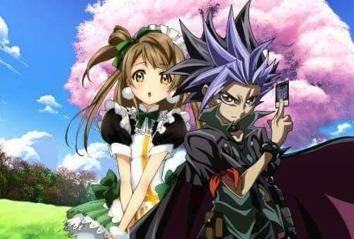 yuto and kotori by LadyTakerFandub