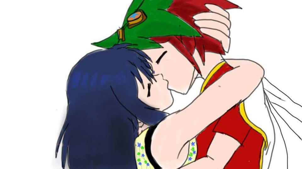 yuyaXumi kiss by LadyTakerFandub